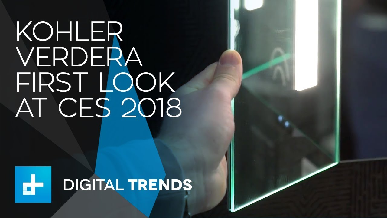 Kohler Verdera Smart Mirror – First Look at CES 2018