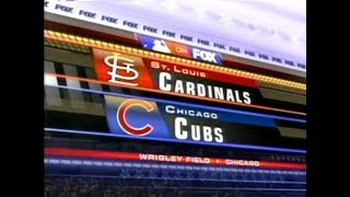 122 (part 1 of 2) - Cardinals at Cubs - Saturday, August 19, 2006 - 12:20pm CDT - FOX