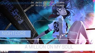 Скачать Nightcore A Million On My Soul VALERIAN Lyrics