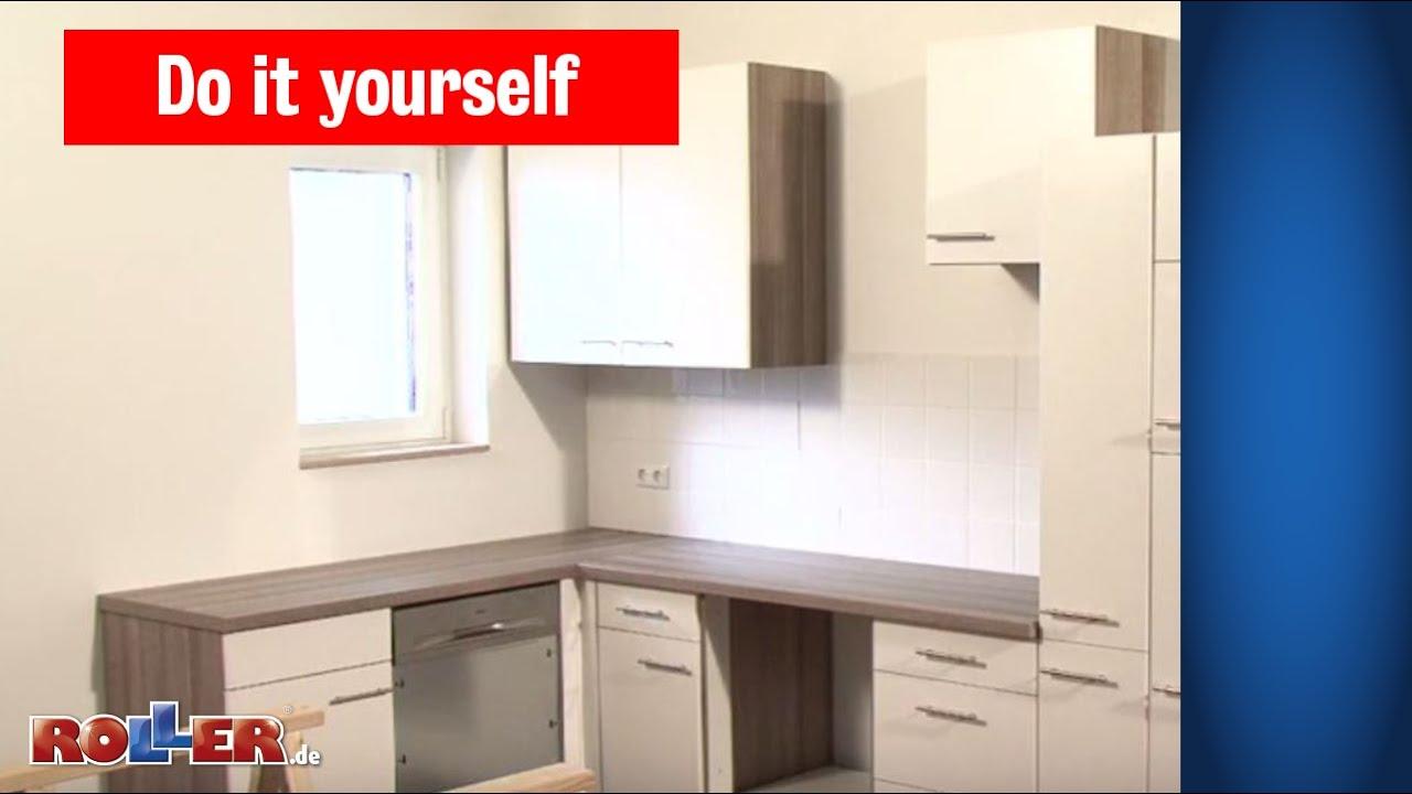 Küchen Arbeitsplatte Montieren Roller Do It Yourself