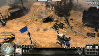 Company of Heroes 2 Gameplay: Jaeger Infantry Doctrine | 2v2 on Moscow Outskirts