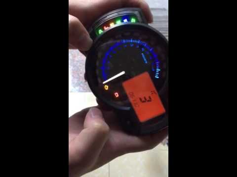 hqdefault universal motorcycle rpm 15000 lcd digital odometer speedometer rx2n replica wiring diagram at gsmportal.co