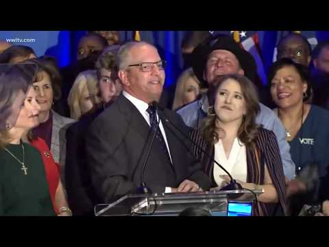 John Bel Edwards speaks after winning re-election as Louisiana's governor