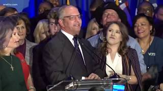 John Bel Edwards speaks after winning re-election as Louisiana39s governor