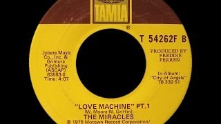 The Miracles ~ Love Machine 1975 Disco Purrfection Version