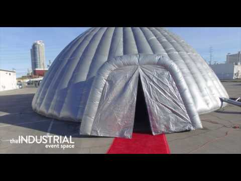 The Industrial Event Space Drone Footage 2017