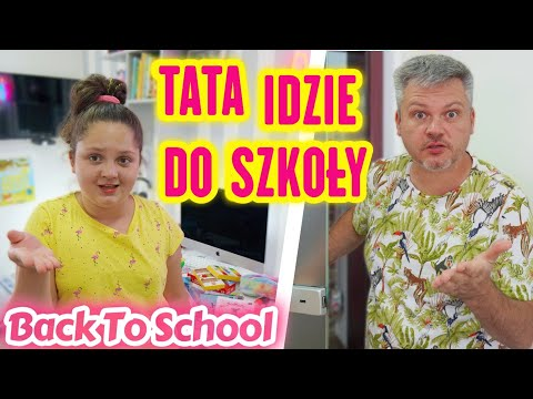 BACK TO SCHOOL 🎒 TATA IDZIE DO SZKOŁY 😂 MISIA I JA