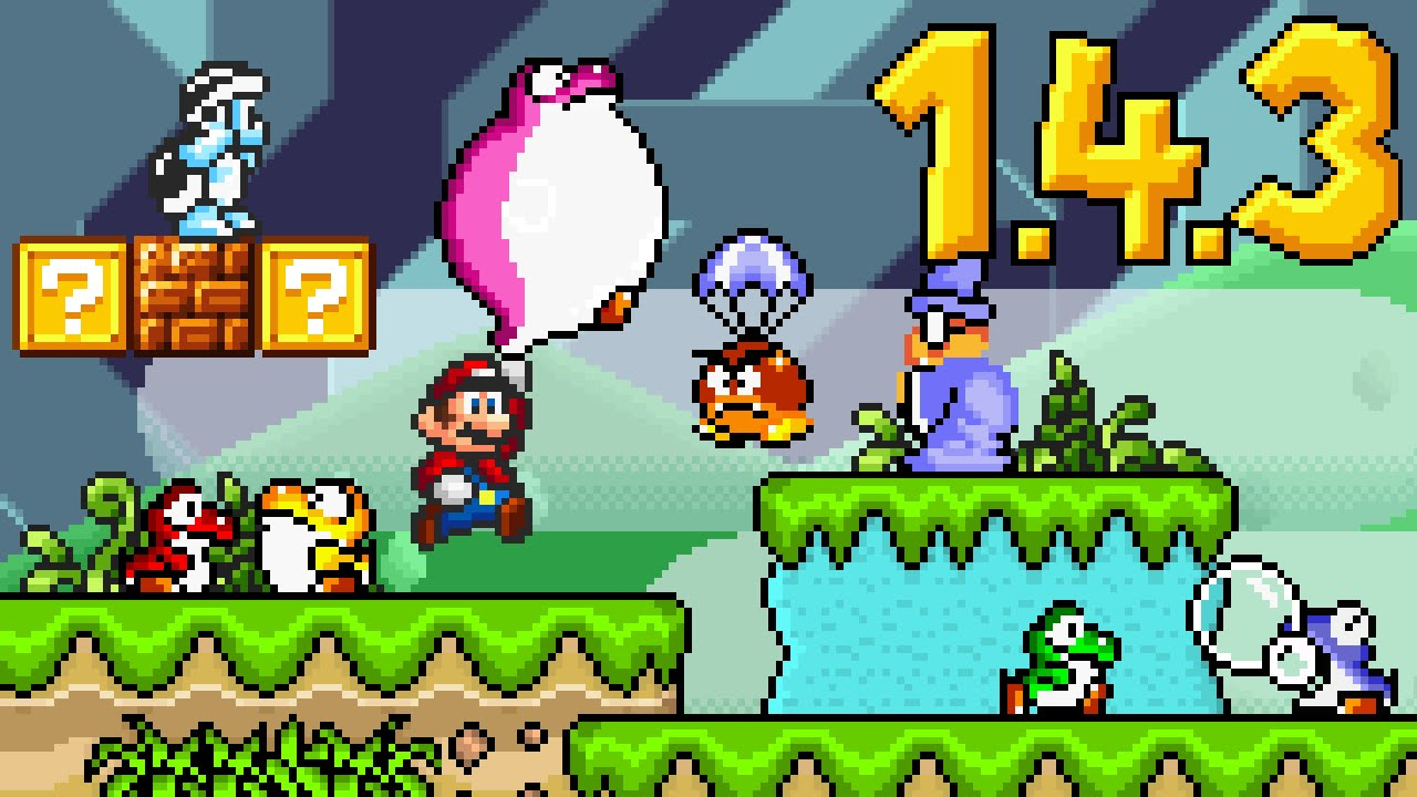 SUPER MARIO BROS  X (SMBX) 1 4 3 HAS BEEN RELEASED