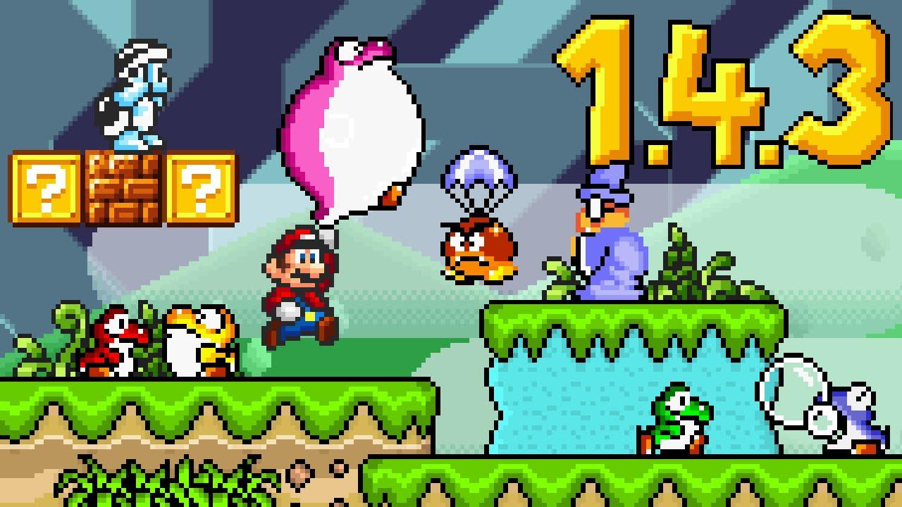 X Super Mario Brothers Games