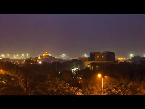 Day to Night Timelapse video Lucknow, India