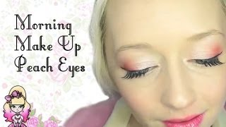 Peach Eyes - Morning Make Up - Violet LeBeaux