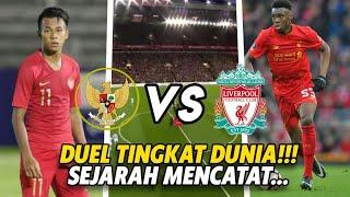 VIRAL🔥LIVERPOOL U-20 VS TIMNAS U-20 DI BALI, INTERNATIONAL CUP 2019....