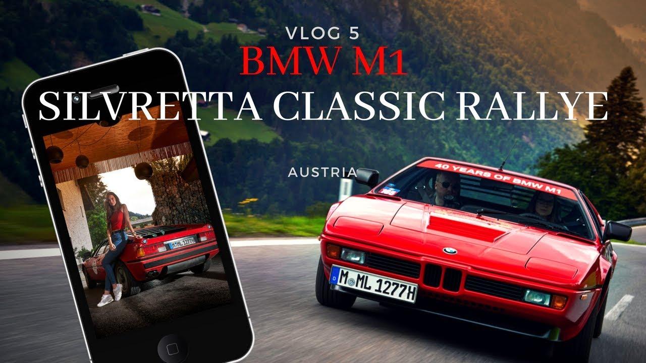 BMW M1 at SILVRETTA CLASSIC RALLYE 2018 // PART 1