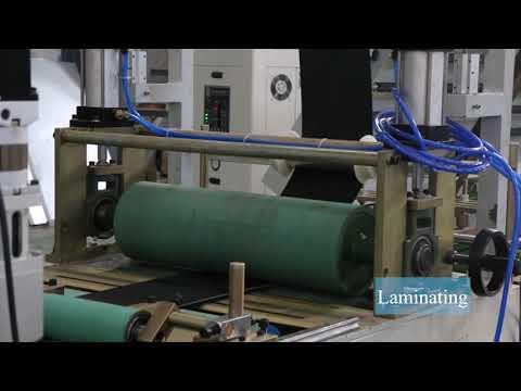 Backside Cushion Padding Laminating Machine