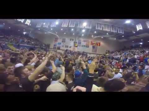 GoPro: St. Bonaventure Students Storm Court