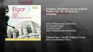 Enigma, Variations on an original theme, Op. 36: XII (B.G.N.) Andante