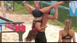 Survivor - Scor incredibil! Concurentii fac spectacol pe traseu! Ana si Elena luate pe sus de Culita