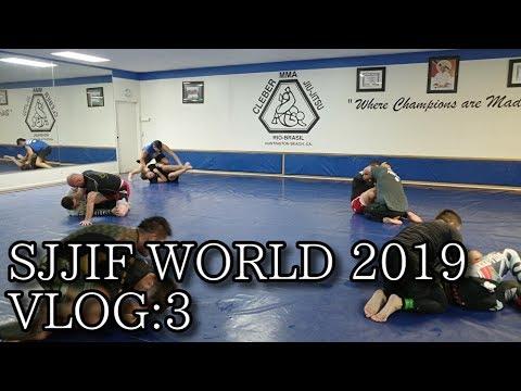 SJJIF WORLD 2019 VLOG:3 Cleber Jiu Jitsu