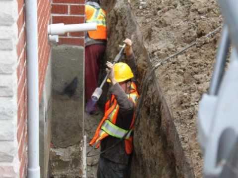Oshawa Concrete Crack Repair Basement Foundation Epoxy Polyurethane