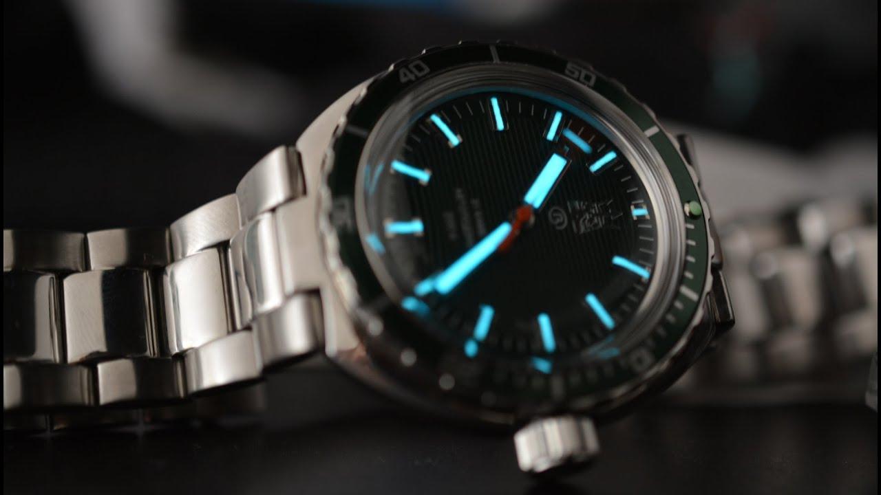 Часы DEBERT. Хомаж на часы Omega Seamaster 300