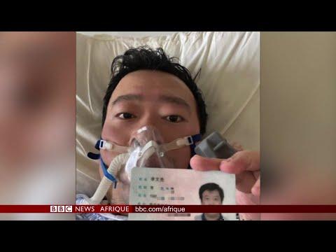 Coronavirus: émotion après la mort du médecin lanceur d'alerte - BBC INFOS