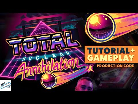 Total Nuclear Annihilation Pinball with Ed Robertson of The Barenaked Ladies