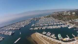 Santa Barbara, California - Drone Flight
