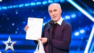 Al Alvarez adds stripping to his list of achievements! | Britain's Got More Talent 2017