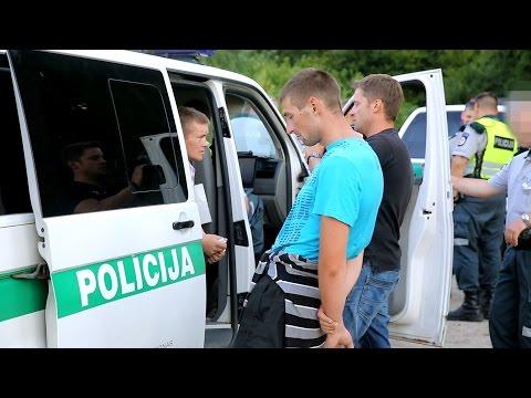 Vilniaus tabore policija gaudė narkomanus