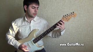 РАСТЯЖКА ПАЛЬЦЕВ / видео уроки гитары - ЗАРЯДКА ГИТАРИСТА, урок 2