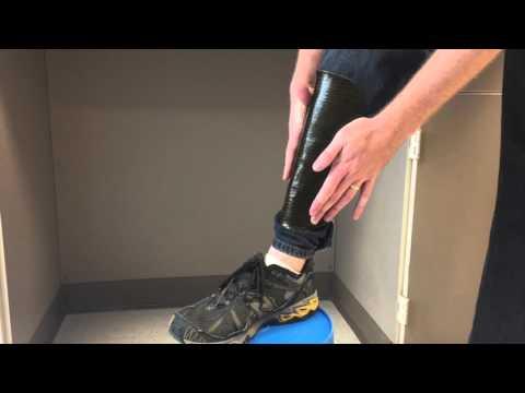 1b994666d8e5 Mallinda's moldable carbon fiber shin guard shaping - YouTube