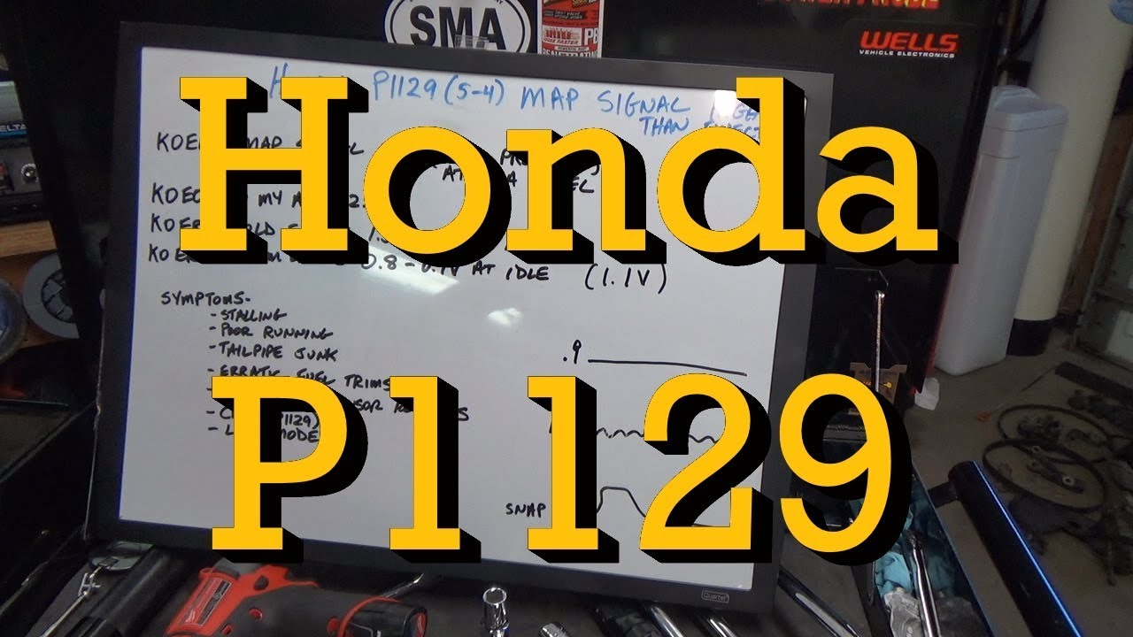 Honda P1129 MAP Sensor Tips - HOLD FIRE On Parts Cannon!!