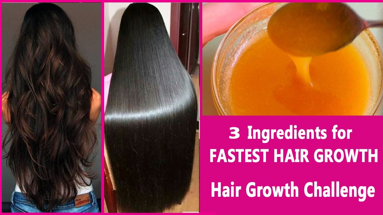 How To Get Long Hair Fast Naturally