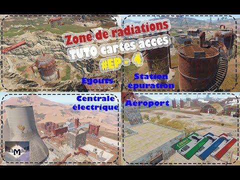 Carte Bleue Rust.Rust Fr Tuto Zone De Rad Ep 4 Egouts Centrale Electrique Aeroport Station Epuration