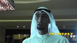 لقاء مع عضو الشرف عبدالله الحمدان