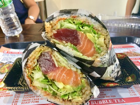 'Sushi burrito' is a real thing: Eat it on Staten Island