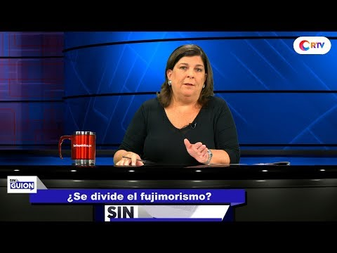 ¿Se divide el Fujimorismo? - SIN GUION con Rosa María Palacios