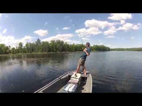 Bass Fishing Long Lake