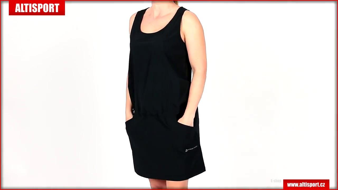 8974f8edf14e dámské šaty alpine pro vakia lskj077 černá - YouTube