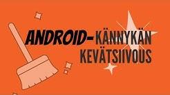 Android -kännykän kevätsiivous