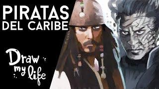 La historia de Piratas del Caribe por Draw my life en españ...