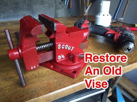 012 Easy Restoration Of A Vintage Vise