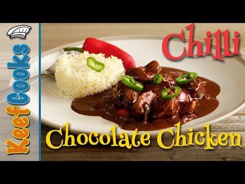 Chocolate Chilli Chicken @Chicken Recipes #Oxfam