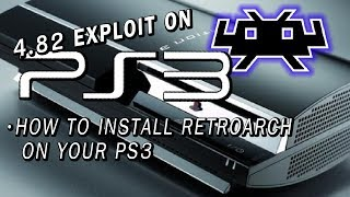 Install RetroArch on your PS3 | 4.82 PS3XPLOIT | RetroArch 1.7.0 + TYRQUAKE GAMEPLAY!