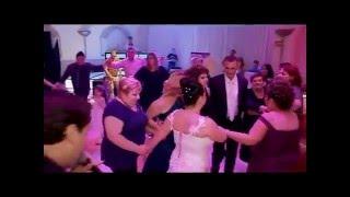 Идиш Еврейская свадьба в Торонто - танцы,  поет Евгений Резник