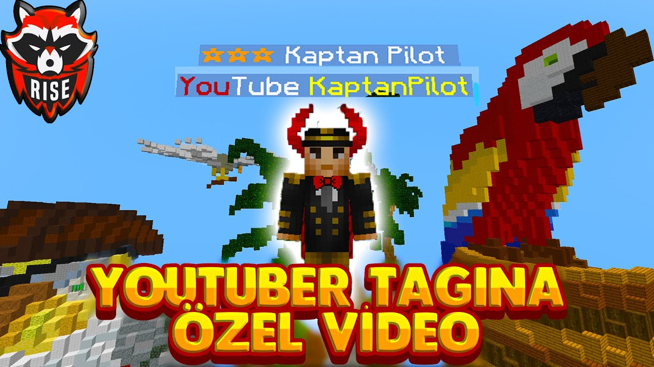 CRAFTRİSE DA YOUTUBER TAGI ALDIM ! - Minecraft Craftrise Skywars