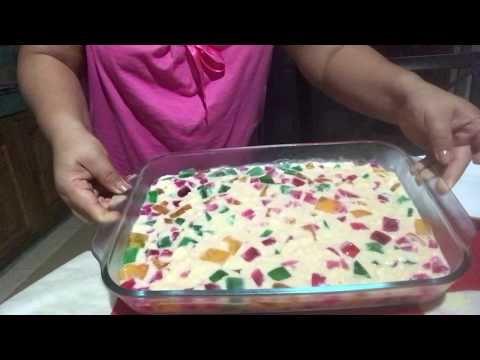 How To Cook WINDOW CATHEDRAL JELLY RECIPE