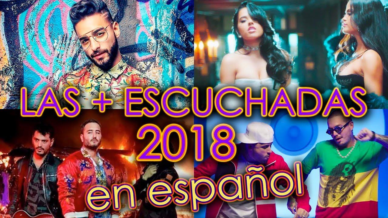 Canciones Más Escuchadas 2018 En Español Videos Más Vistos En Youtube De Música Wow Qué Pasa Youtube