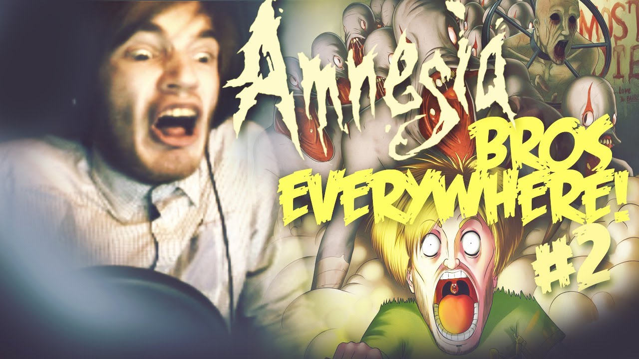 BRO WANTS MY ASS IN THIS ONE! - Amnesia: Custom Story - Part 2 - Followed By Death (Ch 2)