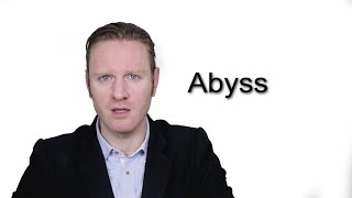 Abyss - Meaning   Pronunciation    Word Wor(l)d - Audio Video Dictionary